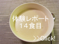 DHCプロテインダイエット体験談 14食目
