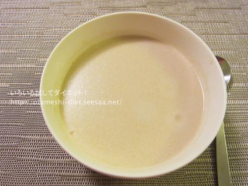 DHCプロテインダイエット体験談 14食目バナナ味アレンジ失敗!!